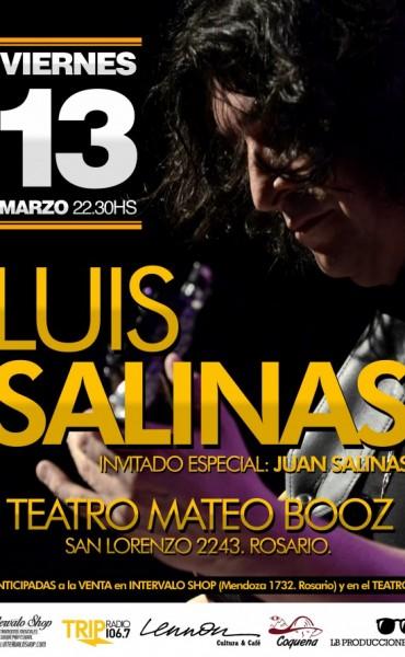 Luis Salinas en la ciudad