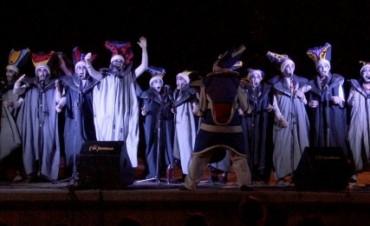Carnaval de las murgas Mal Ejemplo y La ReTirada en la Casita de la Memoria