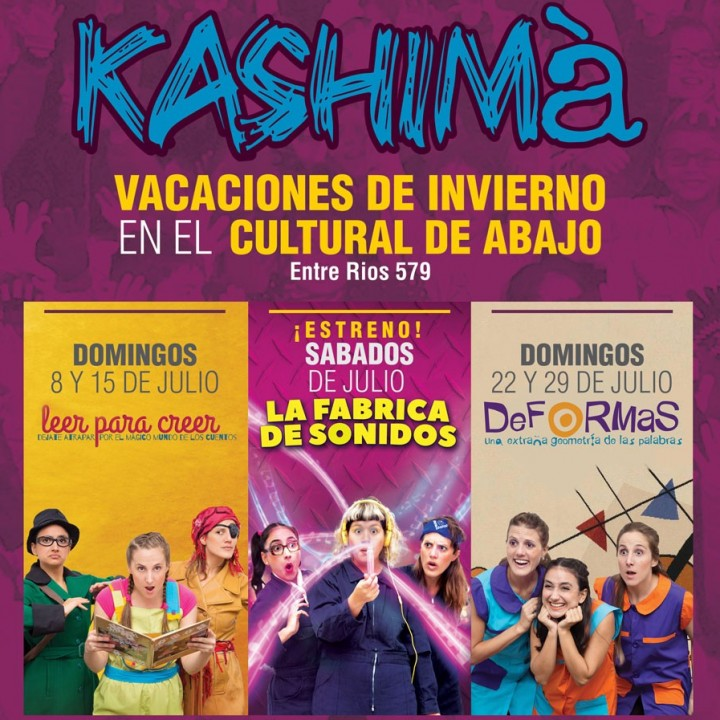 Kashimà producciones y la Fabrica de Sonidos