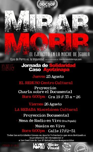 Proyección Documental - MIRAR MORIR