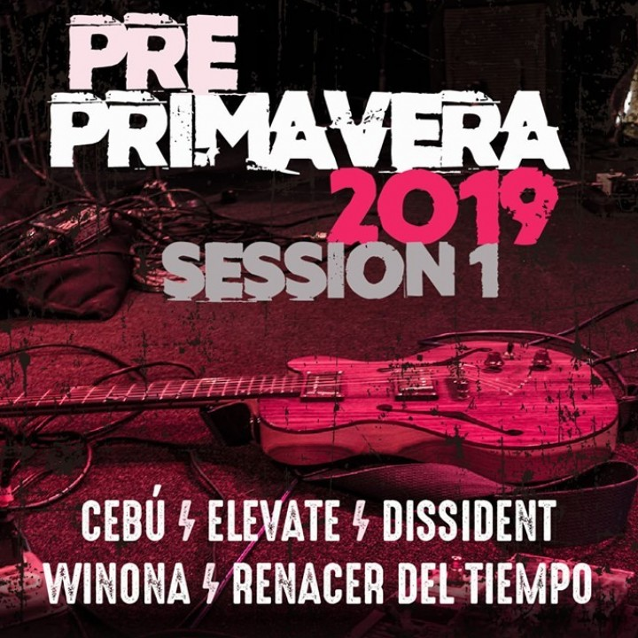 Comienzan los shows clasificatorios de Rock & Pop del Pre- Primavera 2019