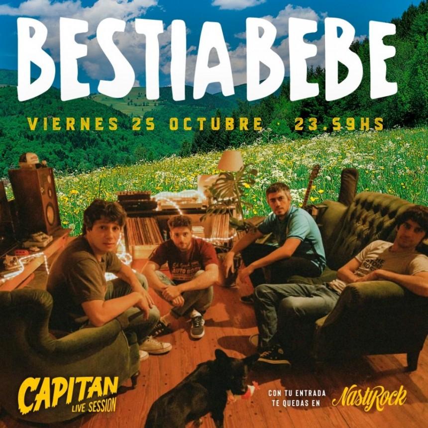 Bestia Bebé vuelve a Rosario en el marco de una nueva edición de la Fiesta Nasty Rock